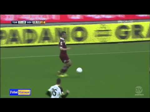 El gol de Omar El Kaddouri frente al Udinese