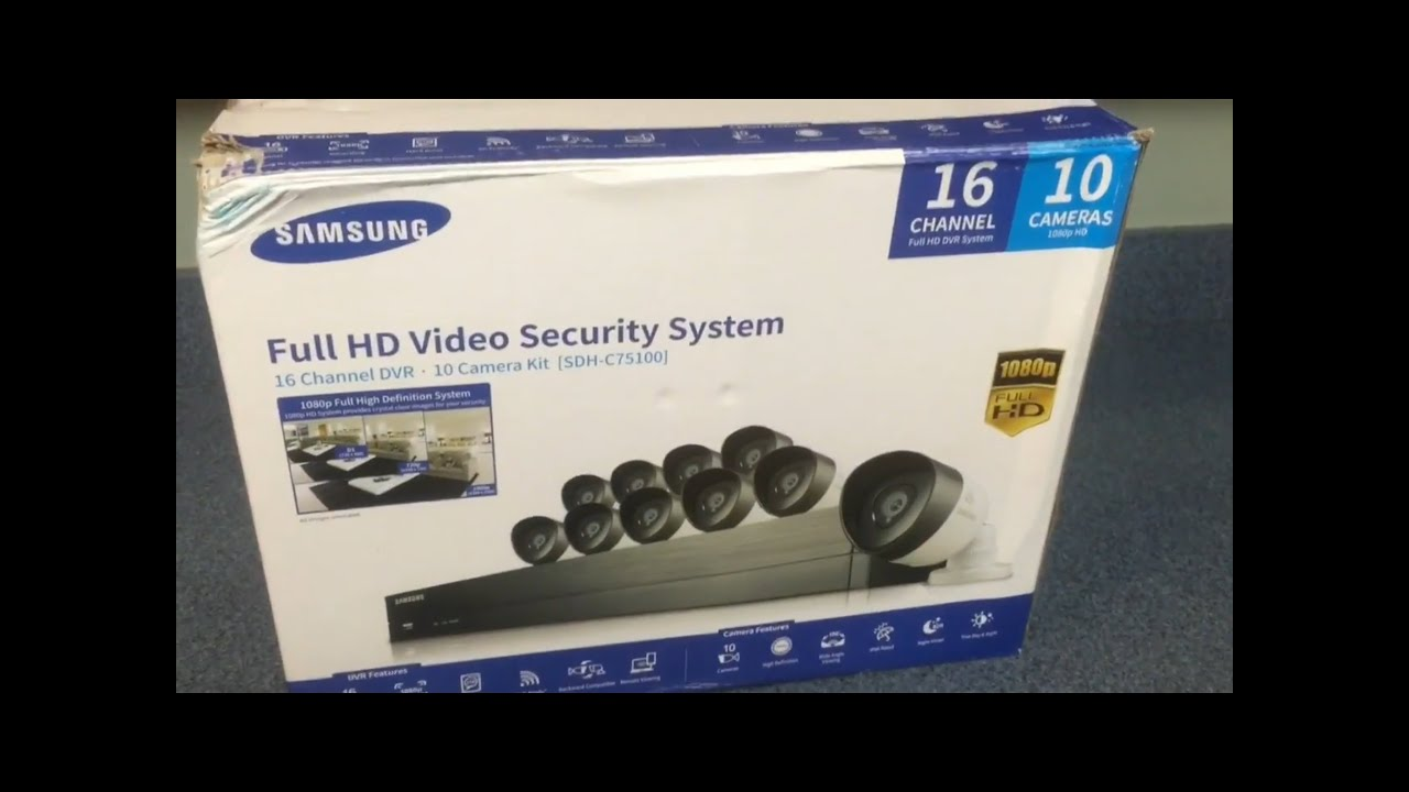 Samsung surveillance video cameras install ipolis mobile nightowl replace