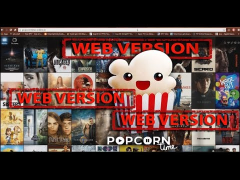 PopcornTime has a WebVersion now!