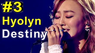 [HOT]I Am a Singer3 나는 가수다3 - Hyolyn - Destiny 효린 - 인연 20150213