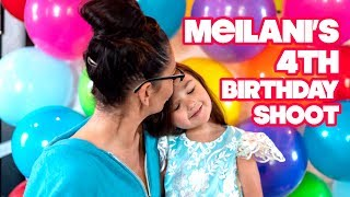 MEILANI'S 4TH BIRTHDAY PHOTO SHOOT!
