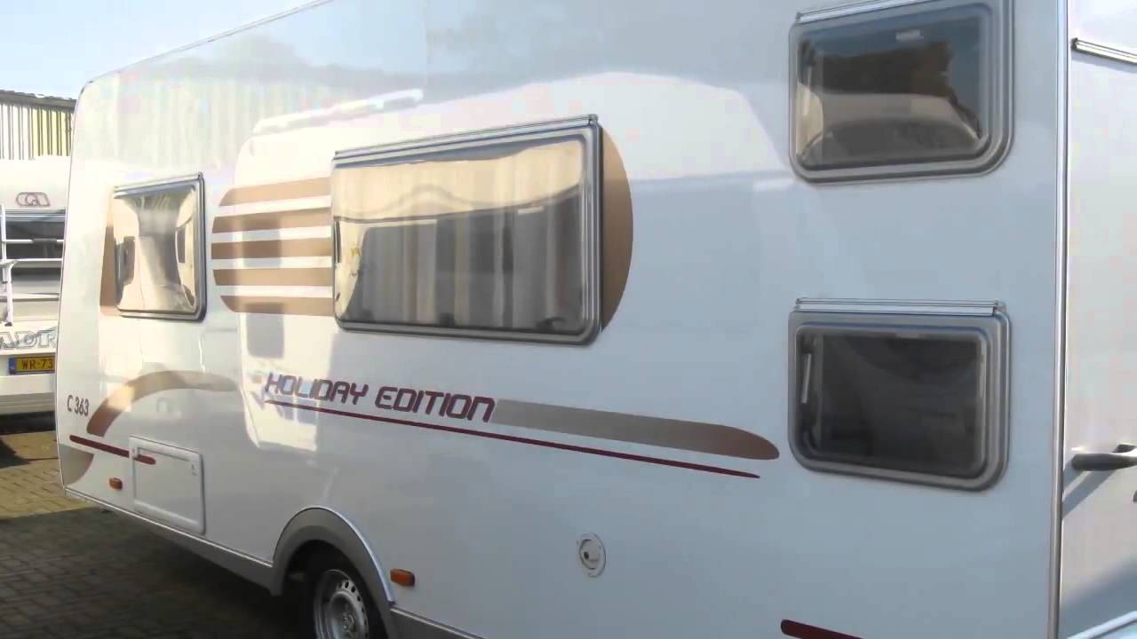 Caravan Met Stapelbed Te Koop.Caravan Te Koop Carado C 363 Holiday Vast Bed Stapelbed Youtube