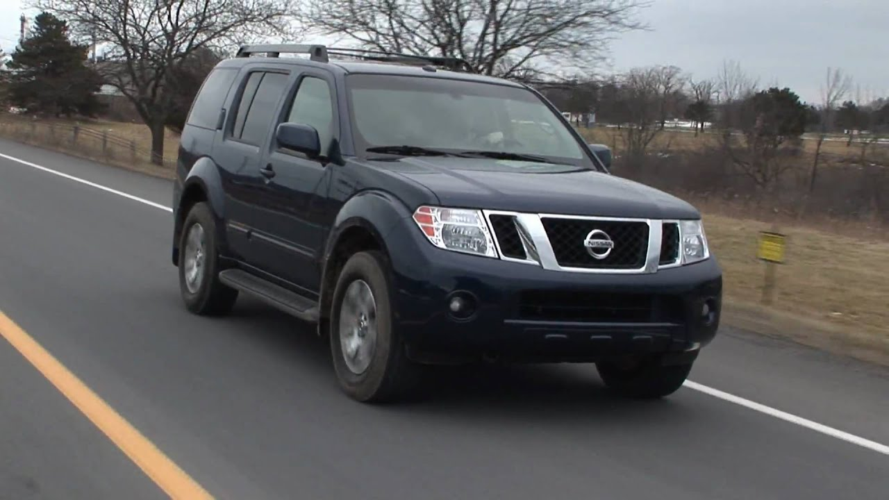 2009 nissan pathfinder se 4x4 youtube vanachro Images
