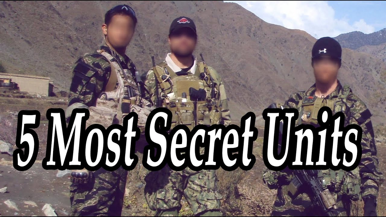 Best Special Forces  Armed Units  TOP 5 Most Secret Units in Military  History