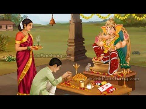 Ganesh Chaturthi Puja Vidhi How To Do Ganesh Puja At Home Hindi Youtube