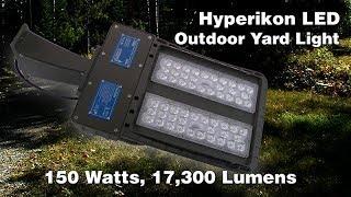Hyperikon outdoor LED yard  or parking lot light. 150 watt, 17,300 lumens