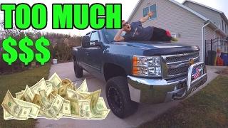 Video HOW MUCH Money has my LIFTED Silverado Build Cost? download MP3, 3GP, MP4, WEBM, AVI, FLV Juli 2018