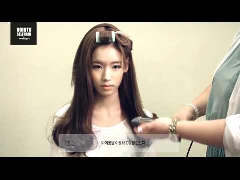 Làm tóc đuôi xoăn đẹp như Hàn Quốc