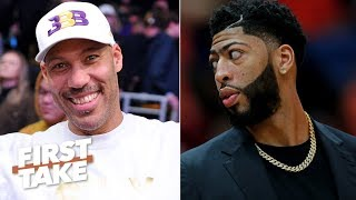 LaVar Ball is hurting the Lakers' chances of landing Anthony Davis – Max Kellerman | First Take