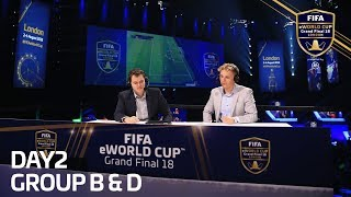 FIFA eWorld Cup 2018- Groups B & D (Spanish Commentary)