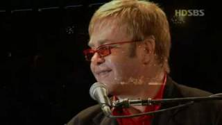 Elton John - Your Song (Live In Seoul 2004 HD)
