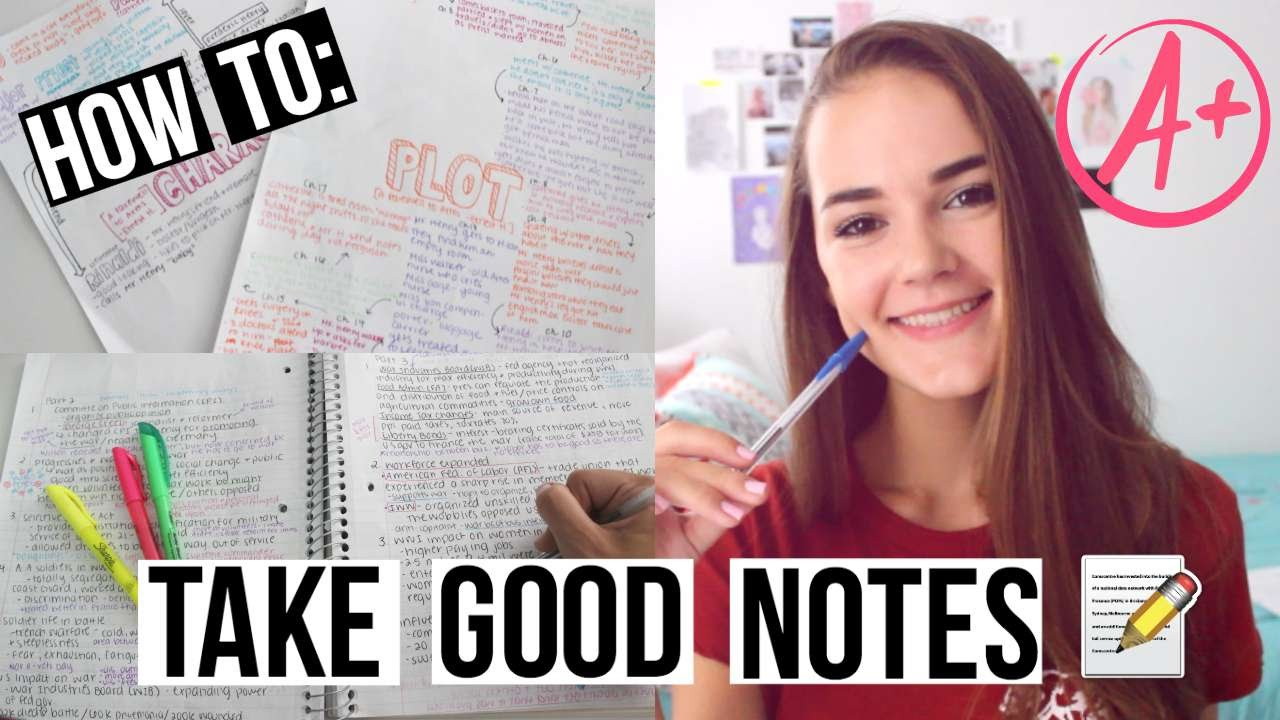 How To: Take Good Notes! | Reese Regan - YouTube