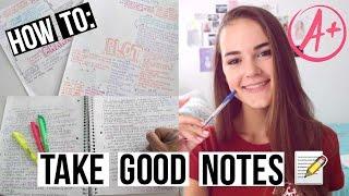 How To: Take Good Notes! | Reese Regan
