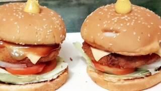 Veg burger shots - Indian veg aluu patiss shots - Multi Guru