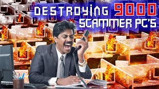 Destroying OVER 9000 Computers  On Scammer's Network!! thumbnail