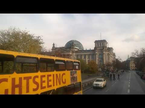 Mit dem Doppeldecker durch die Berliner City: Bus 100 von Breitscheidplatz zum Alexanderplatz