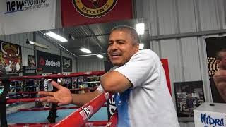 In camp with Mikey garcia and robert garcia EsNews Boxing