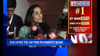 ICICI Bank MD Chanda Kochhar: 'No Competition From Payments Banks'