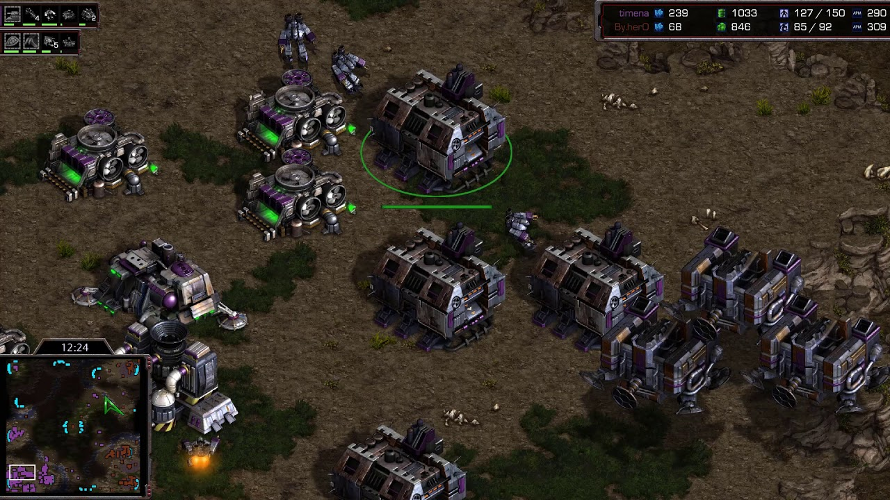 Download Flash (T) v Hero (Z) on Fighting Spirit - StarCraft  - Brood War REMASTERED
