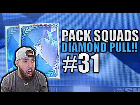 SICK DIAMOND PULL & 2 PLAYERS DEBUT! Pack Squads #31 MLB The Show 19!