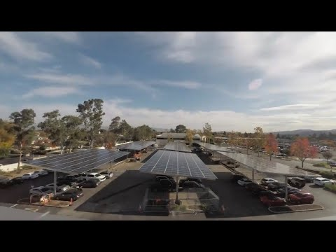 Solar Panels Installed at Xilinx's San Jose Office