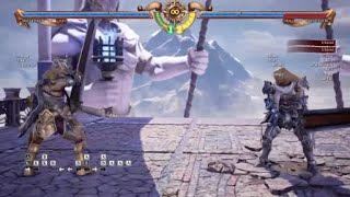 SOULCALIBUR™Ⅵ Siegfried btSCH B optimal combo