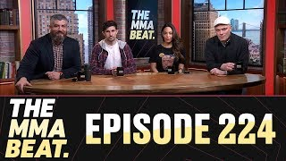 The MMA Beat: Episode 224 (TJ Dillashaw's USADA Suspension, UFC 236 Preview, BJ Penn's Troubles)