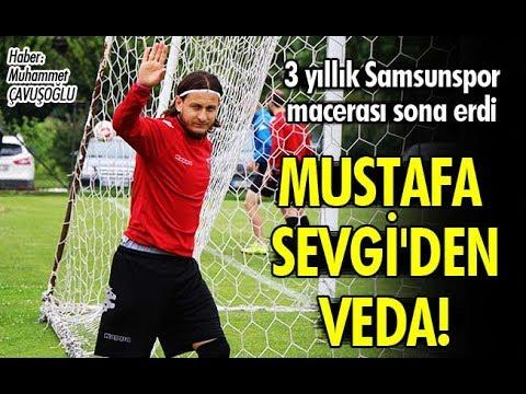 Mustafa Sevgi'den Samsunspor'a veda!