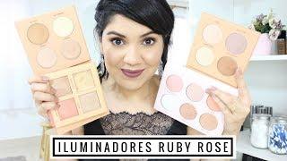 Qual a Paleta de Iluminadores da Ruby Rose Ideal pra Você | Resenha e Muitas Dicas