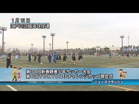 第34回新春親善少年サッカー大会 第6回TOKYO23チャレンジカップ