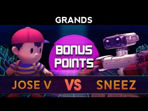 Bonus Points 6 - Grands ft. Jose V (Ness) VS Sneez (R.O.B.)
