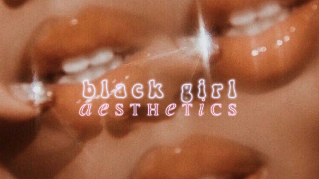 Black Girl Aesthetics Ft Bts Compilation - Youtube-8249