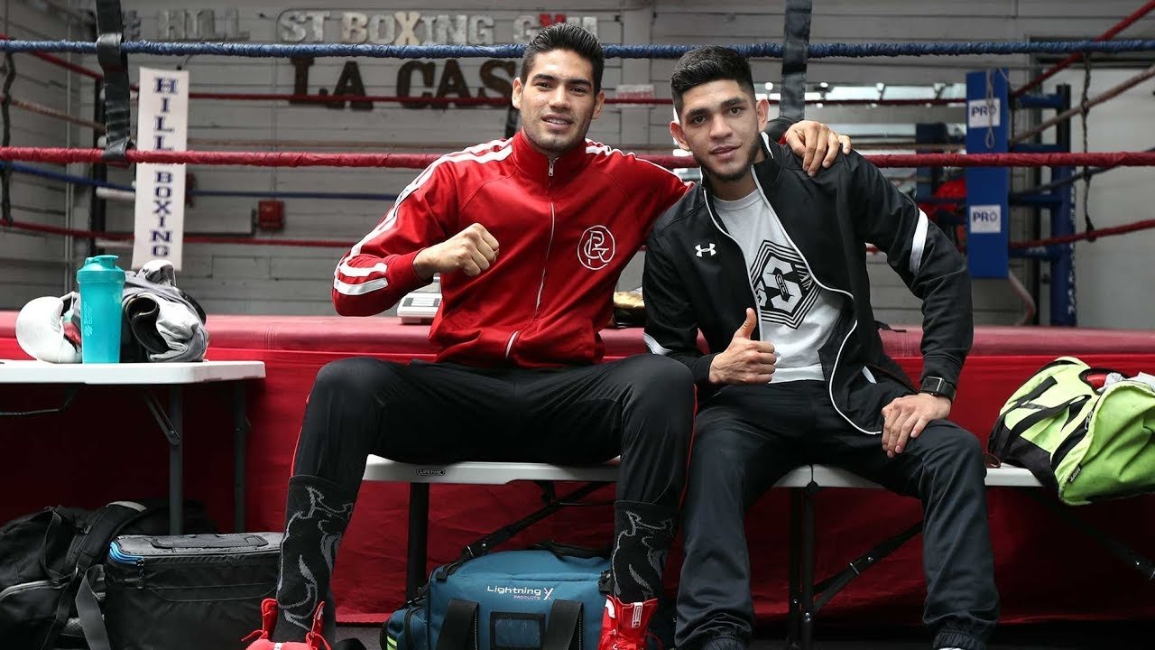 "Media Workouts: Gilberto ""Zurdo"" Ramirez & Alex Saucedo"