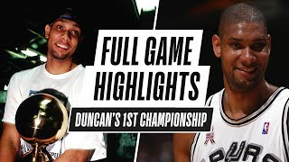 Tim Duncan Leads Spurs To FIRST NBA Championship In Game 5!