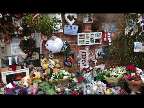 George Michael - Last Christmas - Goring - Xmas Eve -  2017