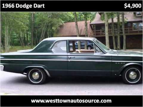 1966 dodge dart used cars west chester pa youtube. Black Bedroom Furniture Sets. Home Design Ideas