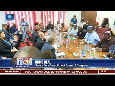 Senate Gets Arms Deal Commitment From U.S Congress Pt 3 | News@10 |