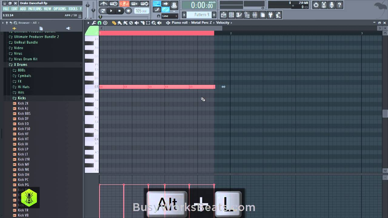 Drake Dancehall Pt 1 Drums and Rhythm