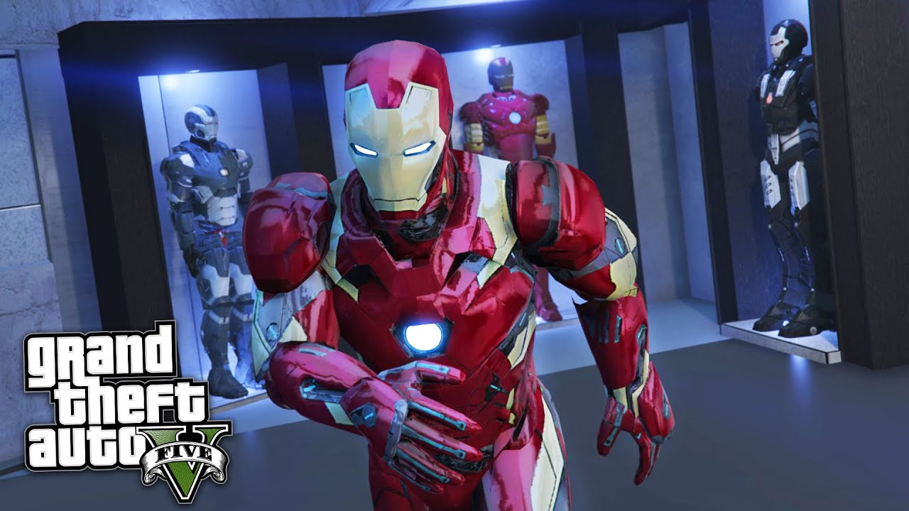 Gta  Mods Iron Man Tony Starks Mansion Mod Gta  Iron Man Mod Gameplay Gta  Mods Gameplay Youtube
