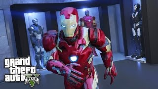 GTA 5 Mods - IRON MAN/TONY STARK'S MANSION MOD!! GTA 5 Iron Man Mod Gameplay! (GTA 5 Mods Gameplay)