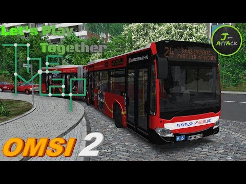 Let's Play The Map Omsi 2 #47 ◄ in the ghetto ► Städte3eck Linie 24