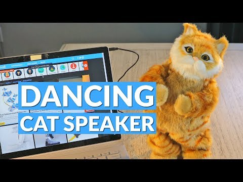 Dancing Robotic Cat Speaker