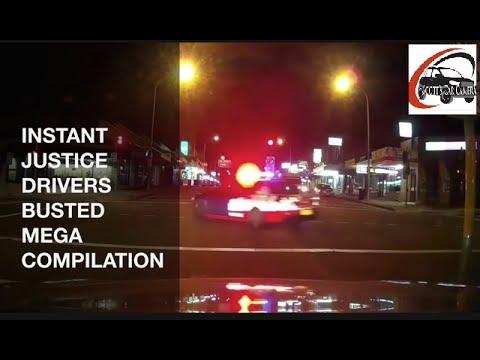 Aussie Drivers Police Karma Videos