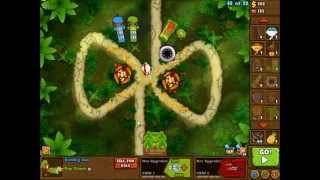 Bloons Monkey City Sticky Sap Plant Special Mission NLL