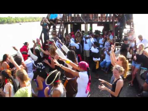 Pirate Party Boat - Dominican Rep