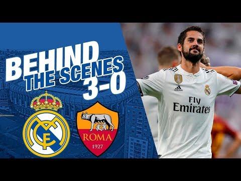 Real Madrid 3-0 Roma |  BEHIND THE SCENES thumbnail