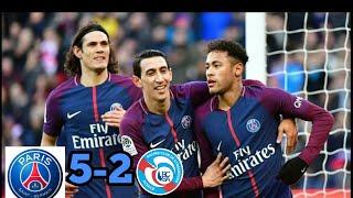 Download Video PSG vs STRASBROUG 5-2 hasil Liga Prancis Tadi Malam 17-2-2018. MP3 3GP MP4