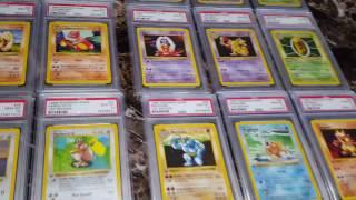 A Youtube 1st Pokemon PSA 10 1st ed Base 103/103 Complete set Gem Mint