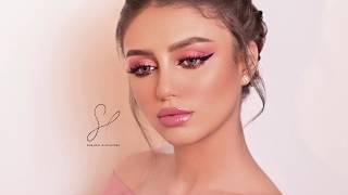 pink makeup tutorial -  توتريال مكياج وردي للمناسبات
