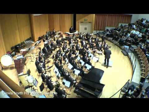 Clovis North HS Wind Ensemble Sutherland Wind Festival 2017